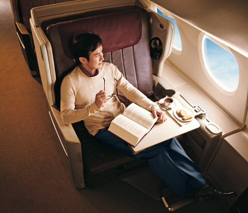 Airbus 380 Business Class